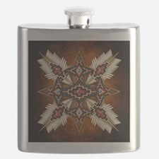 Funny Native americans Flask