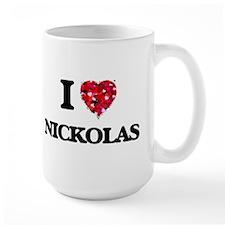 I Love Nickolas Mugs