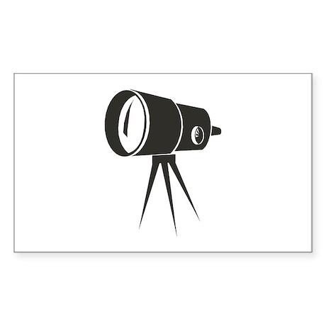 Telescope Rectangle Sticker