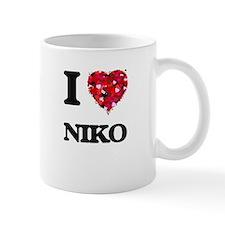 I Love Niko Mugs
