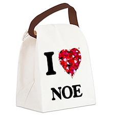 I Love Noe Canvas Lunch Bag