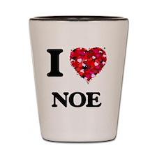 I Love Noe Shot Glass