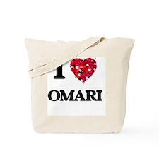 I Love Omari Tote Bag