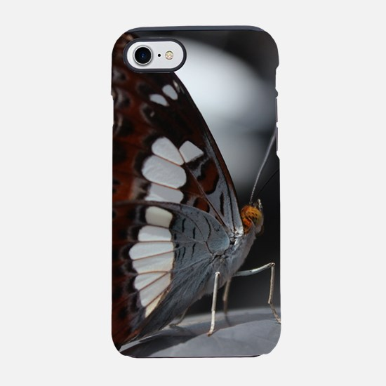 Grey Tri-Colored Butterfly Iphone 8/7 Tough Case