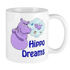 Cute Purple hippos Mug