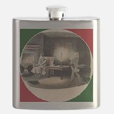 A Christmas Carol Marley's Ghost - Dickens Flask