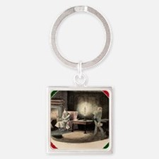 A Christmas Carol Marley's Ghost - Square Keychain