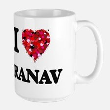 I Love Pranav Mugs