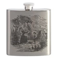 David Copperfield - David and his Aunt - Dic Flask