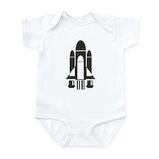 Space Shuttle Infant Bodysuit