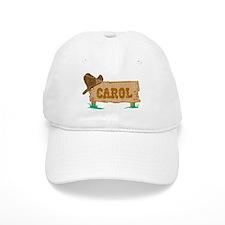 Carol western Baseball Cap