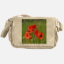 Poppy Fields Messenger Bag
