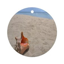 Cute Ocean themed Round Ornament