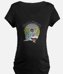 Nine Ball Pool Shark Maternity T-Shirt