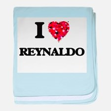 I Love Reynaldo baby blanket