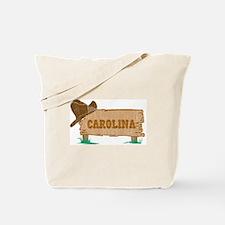 Carolina western Tote Bag