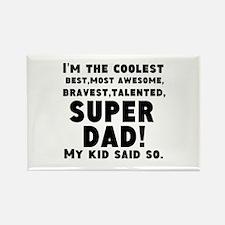 Super Dad Magnets