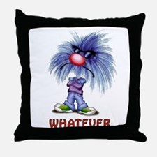 Zoink Whatever Throw Pillow