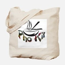 Pho Kit Floral Tote Bag
