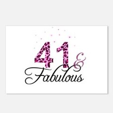 41 and Fabulous Postcards (Package of 8)