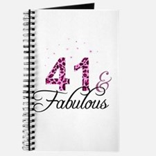 41 and Fabulous Journal