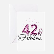 42 and Fabulous Greeting Cards