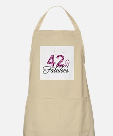 42 and Fabulous Apron