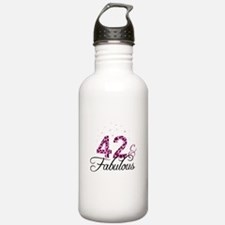 42 and Fabulous Sports Water Bottle