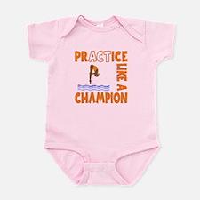 PRACTICE DIVING Infant Bodysuit