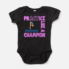 PRACTICE DIVING Baby Bodysuit