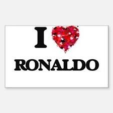 I Love Ronaldo Decal