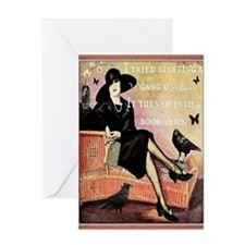 Book Club Card Greeting Cards