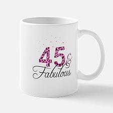 45 and Fabulous Mugs