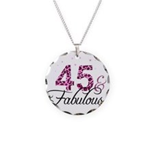 45 and Fabulous Necklace