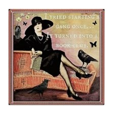 Book Club Tile Coaster