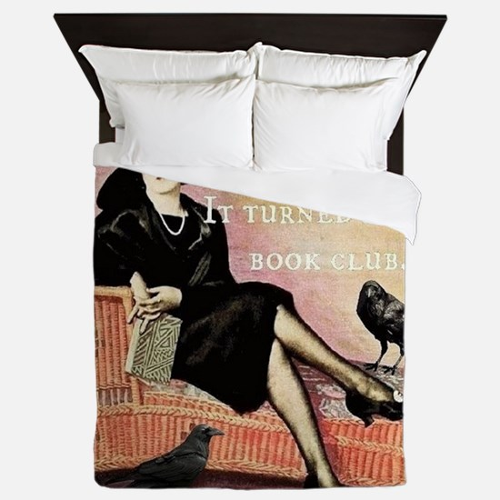 Book Club Queen Duvet