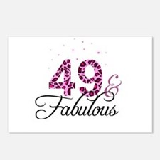 49 and Fabulous Postcards (Package of 8)