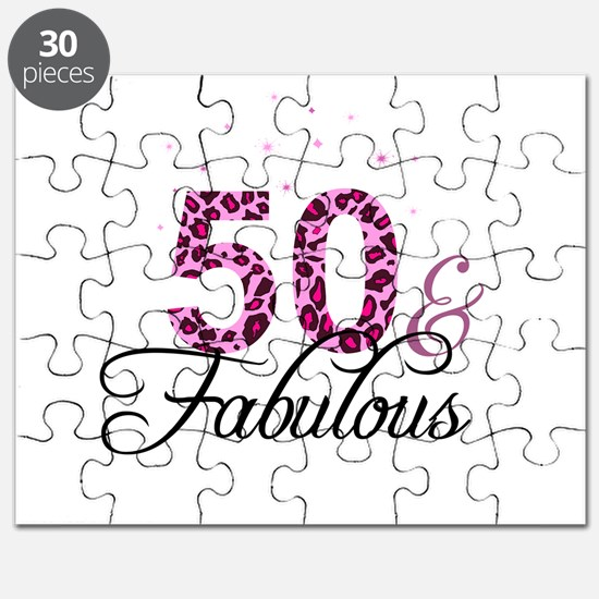 50 and Fabulous Puzzle
