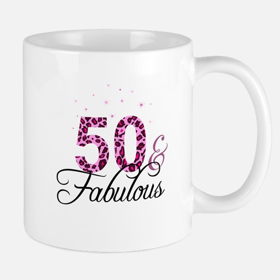 50 and Fabulous Mugs