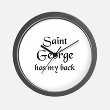 saint george Wall Clock
