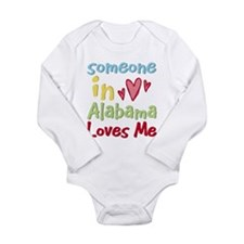 Cool Solopress state town usa someone heart child Long Sleeve Infant Bodysuit