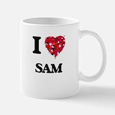 I Love Sam Mugs