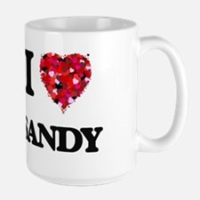 I Love Sandy Mugs