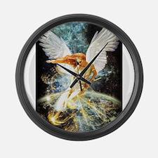 Guardian Angel Large Wall Clock