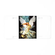 Guardian Angel Aluminum License Plate