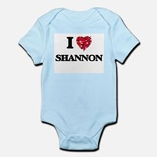 I Love Shannon Body Suit