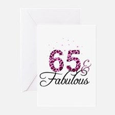 65 and Fabulous Greeting Cards