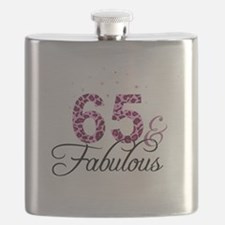 65 and Fabulous Flask