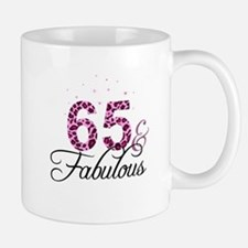 65 and Fabulous Mugs