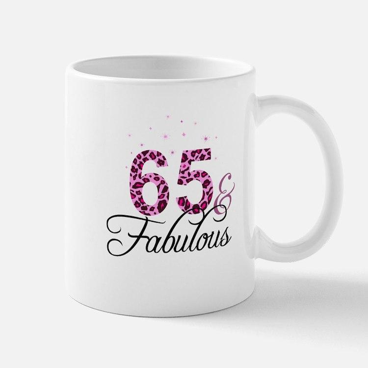 65 and Fabulous Mugs